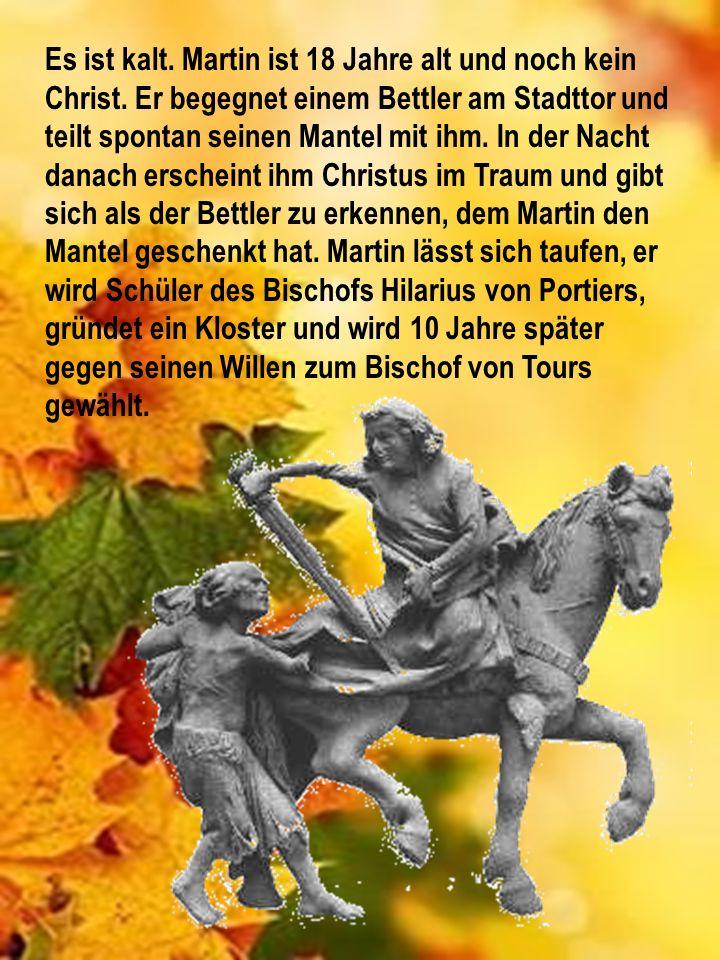 Martinsbrezel Neben den traditionellen Umzügen gibt es zum Martinstag außerdem je nach Region spezielles Gebäck, wie Weckmänner oder Brezeln.