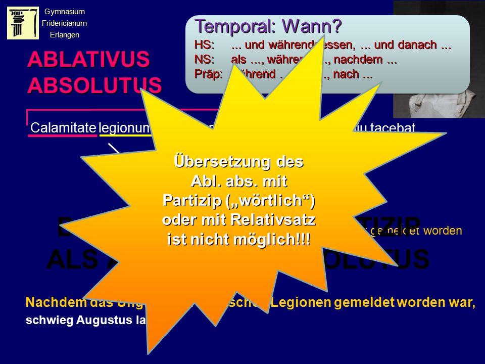 Calamitate legionum Romanarum nuntiata Augustus diu tacebat.