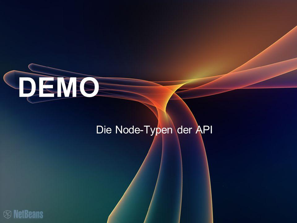 DEMO Die Node-Typen der API