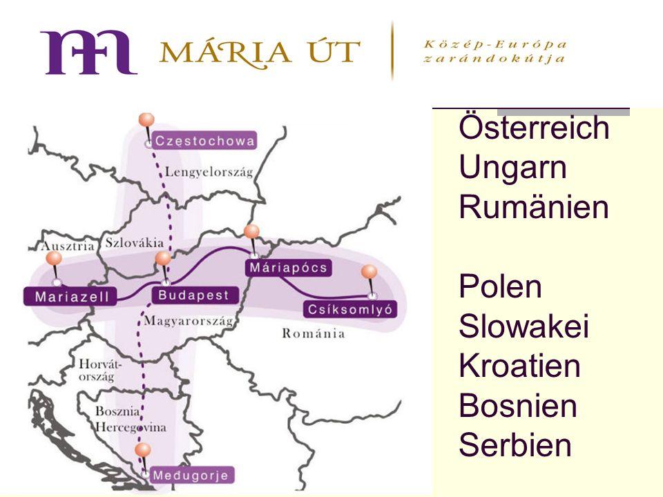 Österreich Ungarn Rumänien Polen Slowakei Kroatien Bosnien Serbien