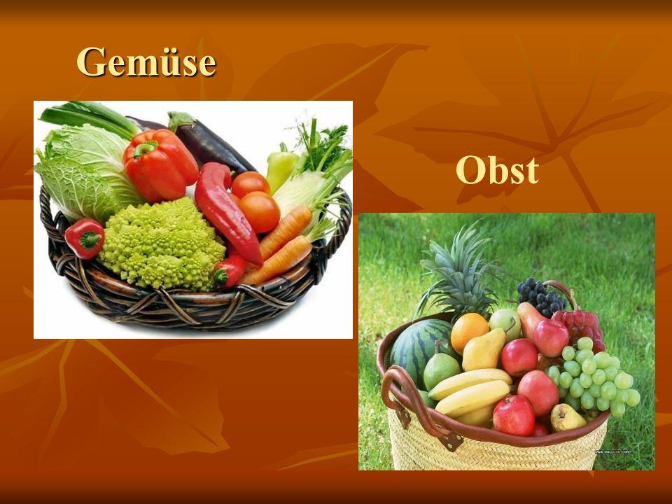 Gemüse Obst