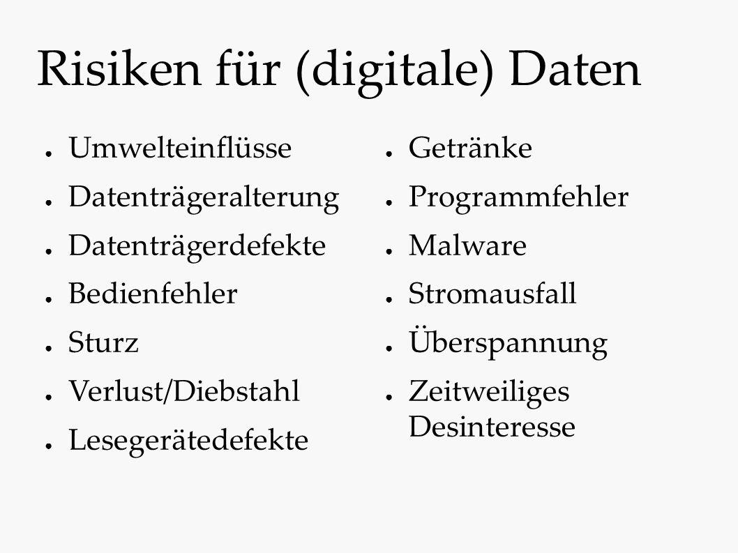 Informationsspeicher Analog Die kontinuierliche Änderung eines Merkmals repräsentiert den Betrag einer physikalischen Größe.