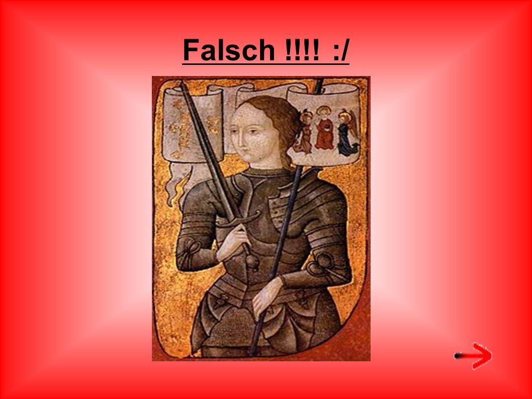 Falsch !!!! :/