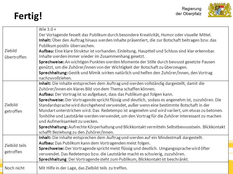 Kompetenzorientierung & Beurteilung, Tanja Westfall-Greiter, 27.6.16 Fertig! Ziebild übertroffen Wie 3.0 + Der Vortagende fesselt das Publikum durch b