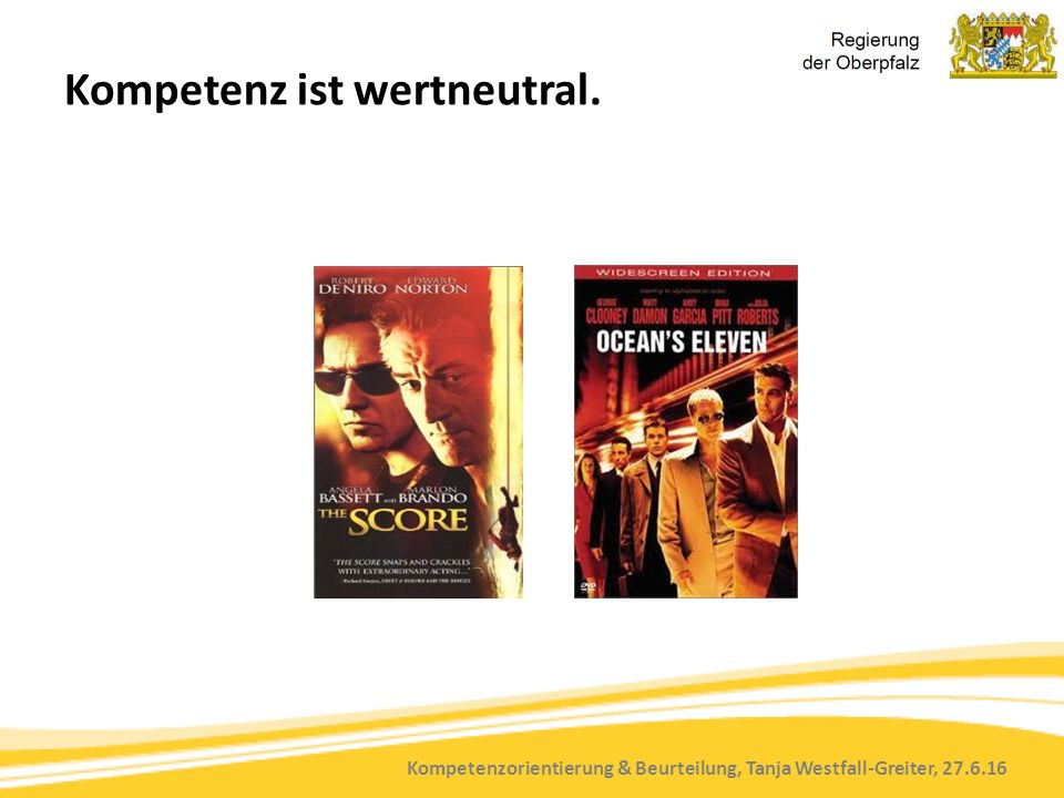 Kompetenzorientierung & Beurteilung, Tanja Westfall-Greiter, 27.6.16 GRUNDPROBLEME IN DER PRAXIS