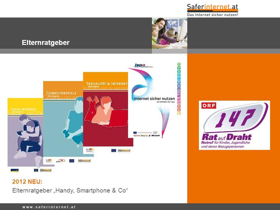 "Elternratgeber 2012 NEU: Elternratgeber ""Handy, Smartphone & Co"