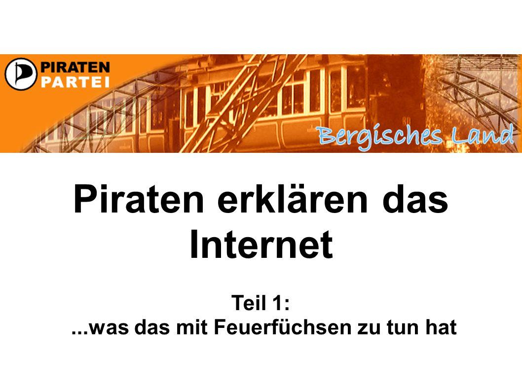 Piraten erklären das Internet Teil 1:...was das mit Feuerfüchsen zu tun hat