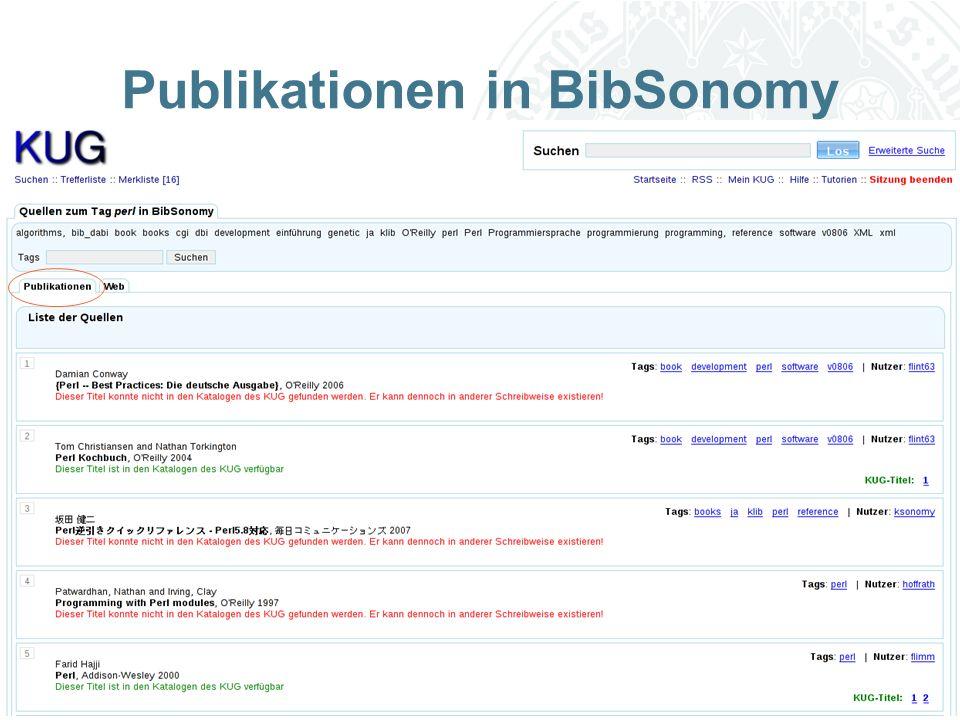 Universität zu Köln Publikationen in BibSonomy