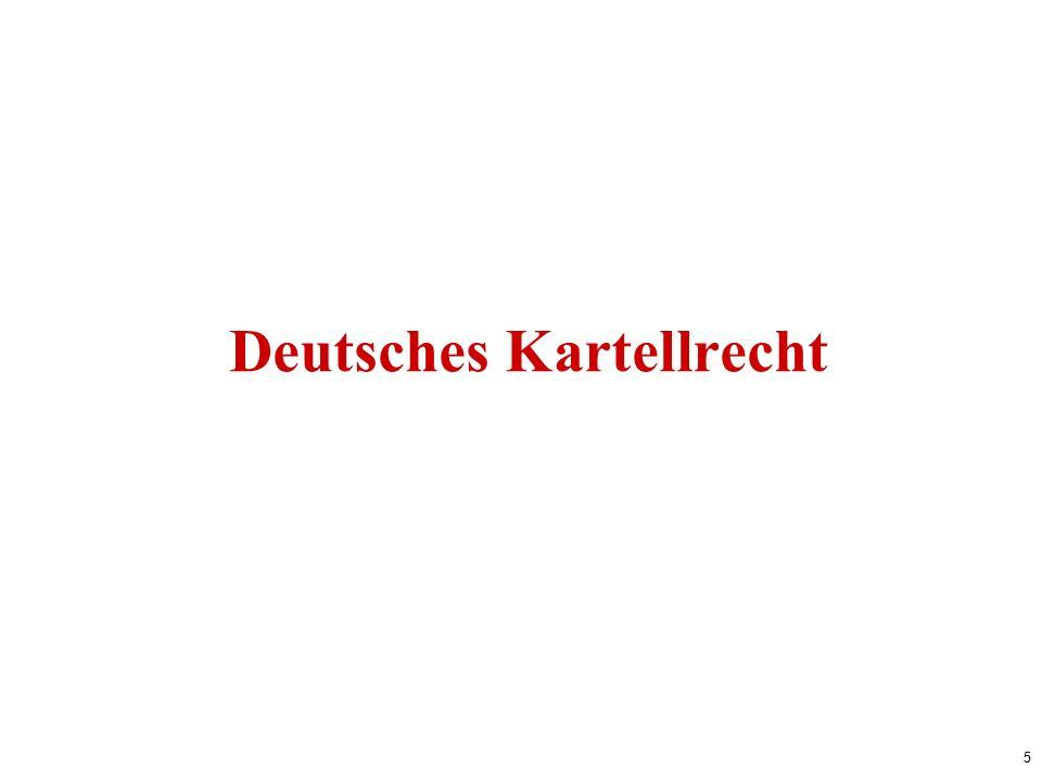 5 Deutsches Kartellrecht