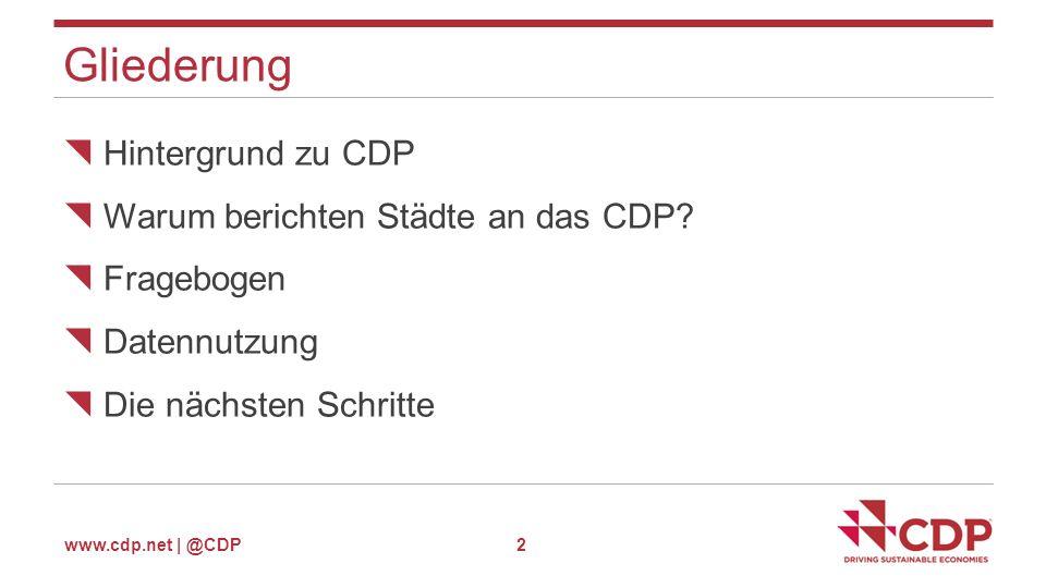 www.cdp.net | @CDP Verwaltung der Nutzer 13