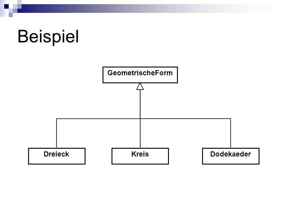 Beispiel Kreis GeometrischeForm DodekaederDreieck