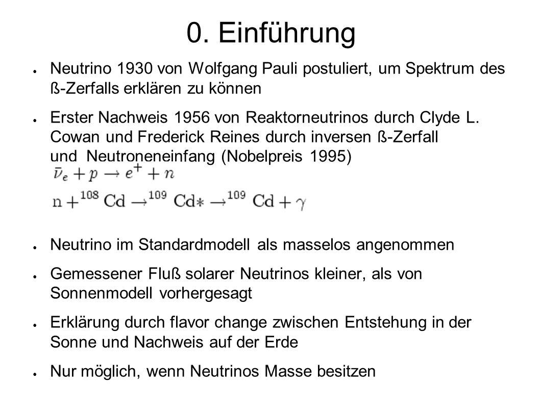 1. Solare Neutrinos