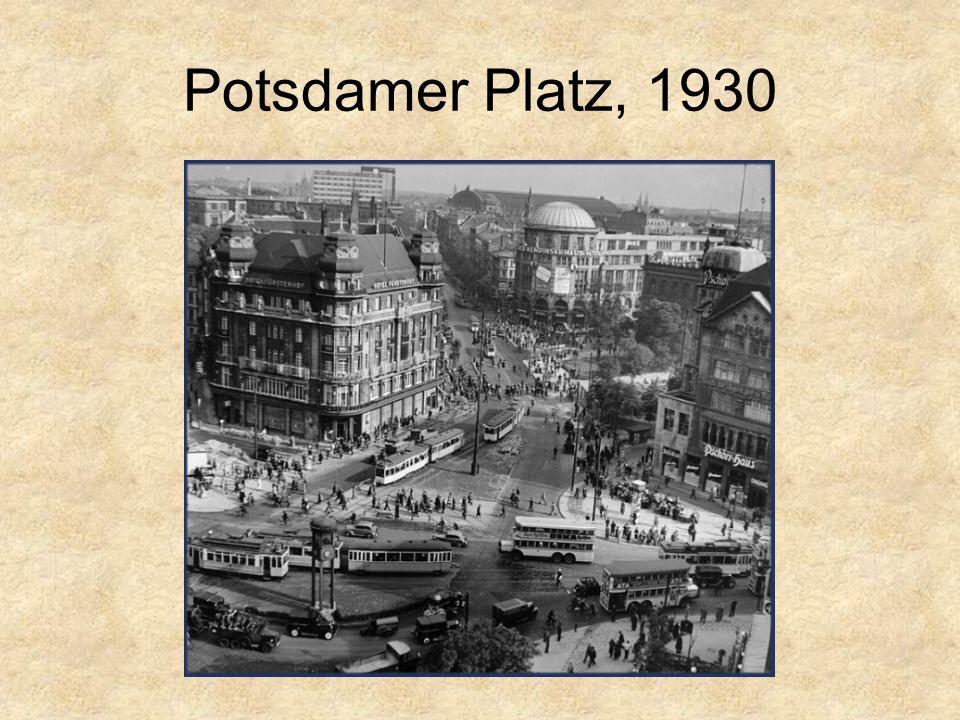 Potsdamer Platz, 1930