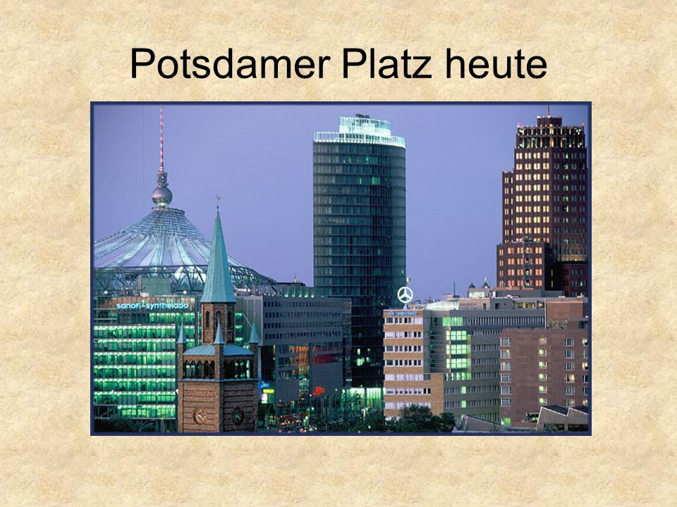 Potsdamer Platz heute