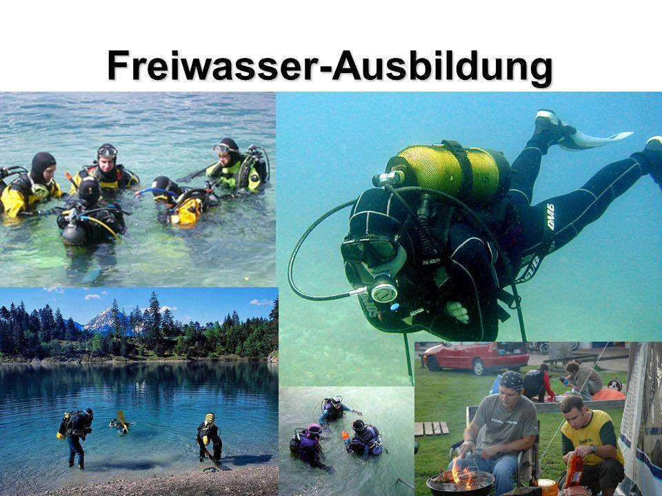 Freiwasser-Ausbildung