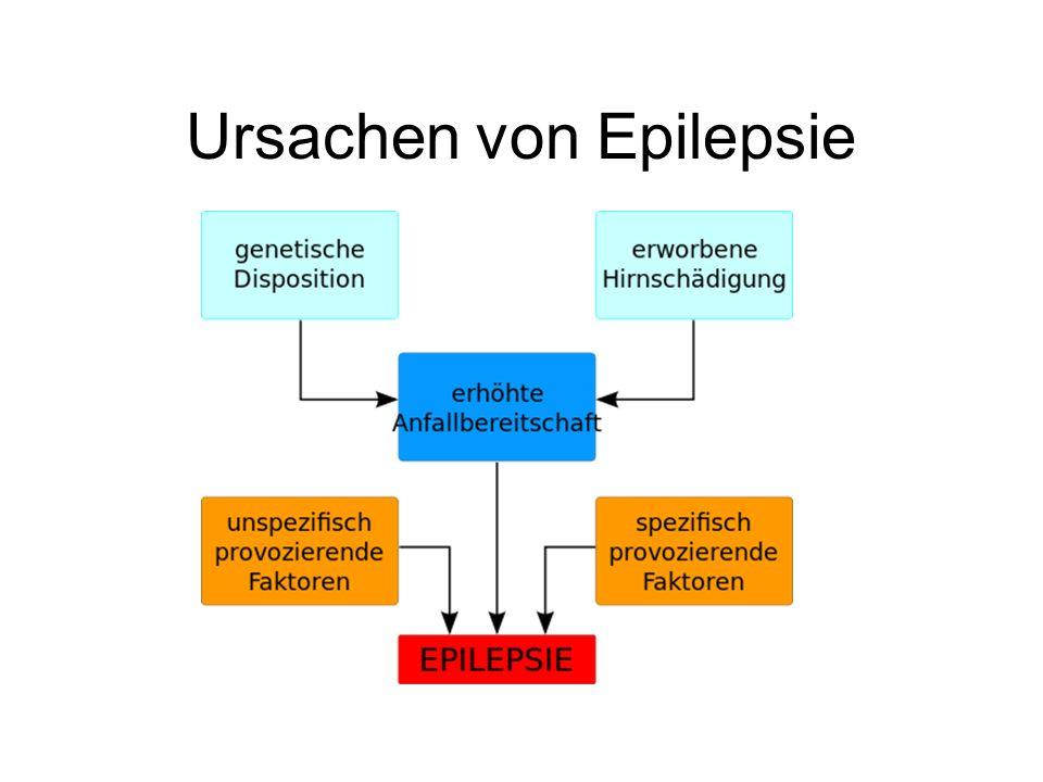 Ursachen von Epilepsie