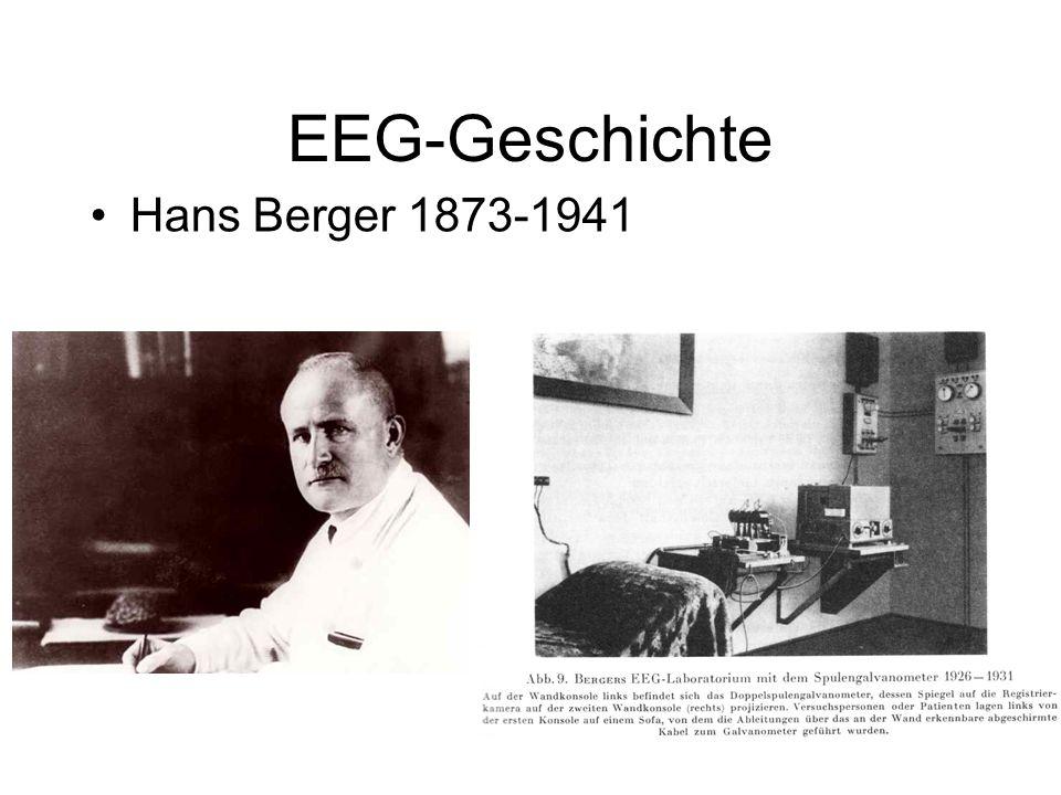 EEG-Geschichte Hans Berger 1873-1941