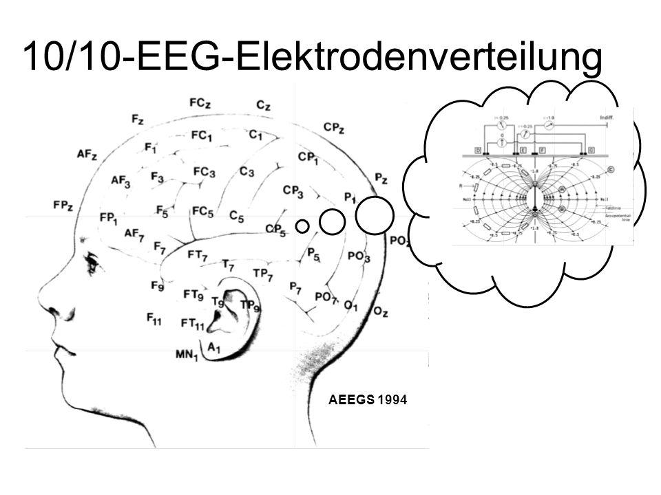 10/10-EEG-Elektrodenverteilung AEEGS 1994