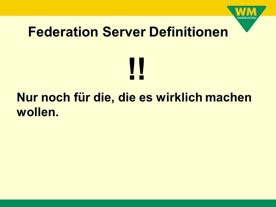 Federation Server + VSAM