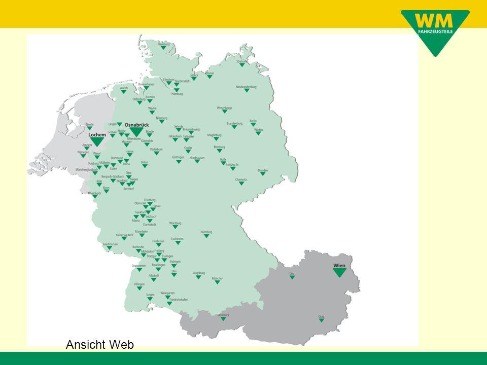 Dirk Schuirmann WM SE www.wm.de Anbindung des neuen Logistikzentrums Datenverarbeitung über Systemgrenzen hinaus