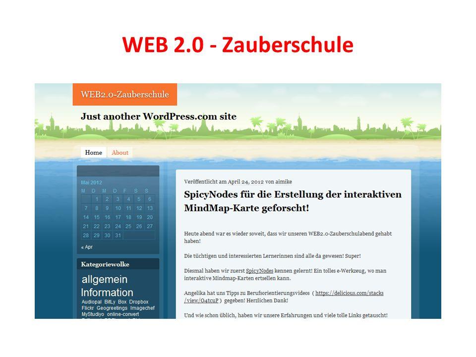 WEB 2.0 - Zauberschule