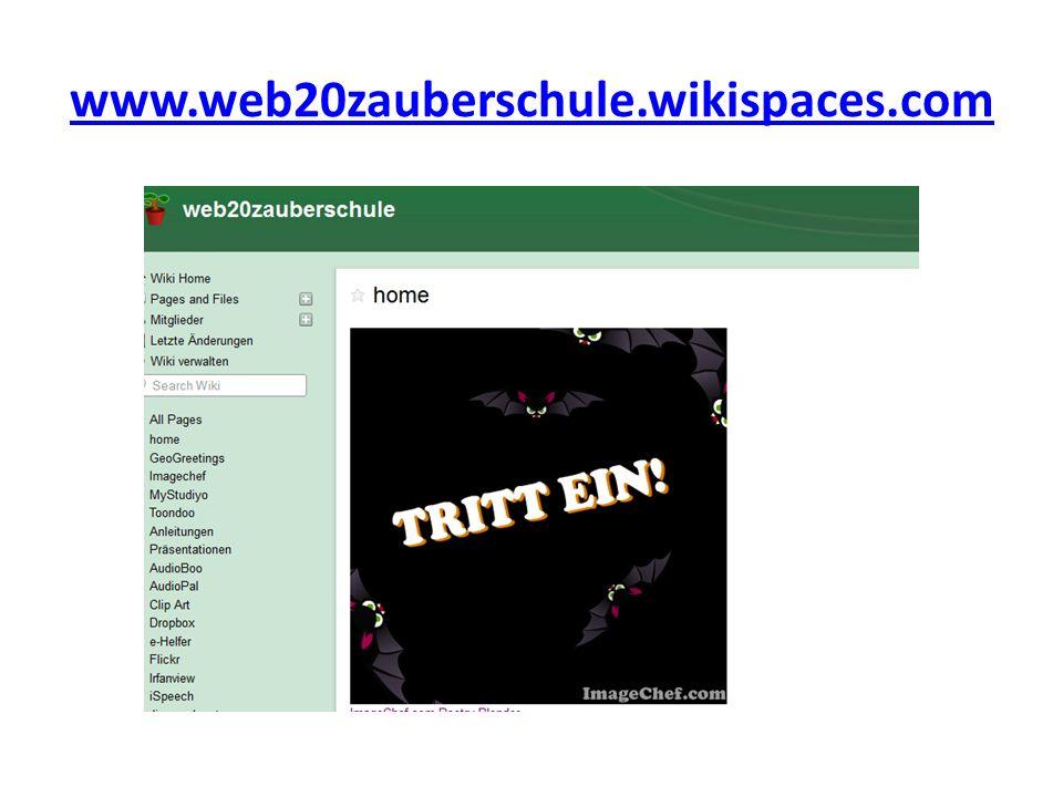 www.web20zauberschule.wikispaces.com