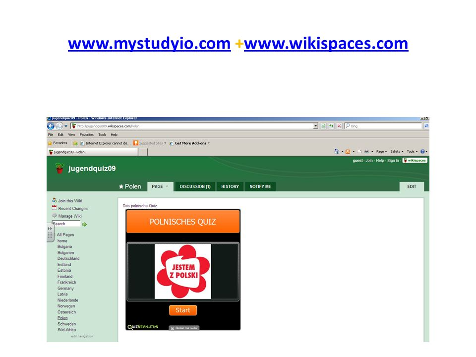 www.mystudyio.comwww.mystudyio.com +www.wikispaces.comwww.wikispaces.com