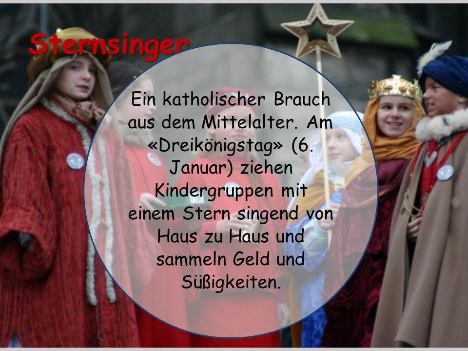 Sternsinger Ein katholischer Brauch aus dem Mittelalter.
