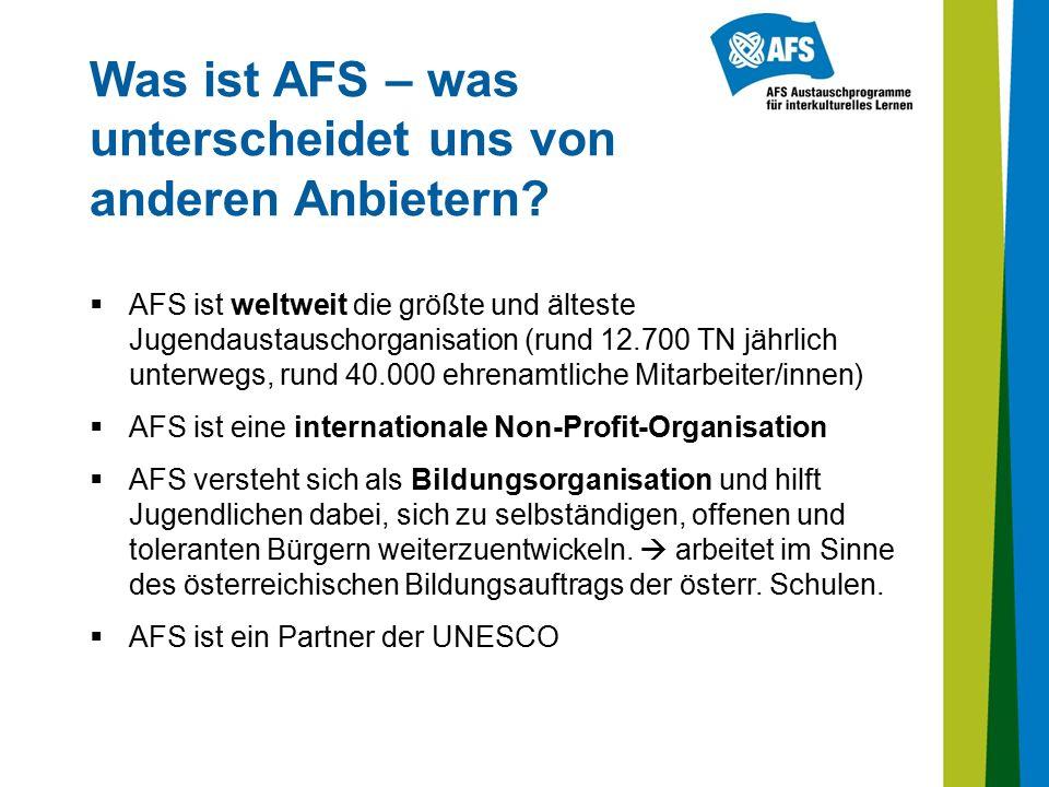 Was ist AFS – was unterscheidet uns von anderen Anbietern.