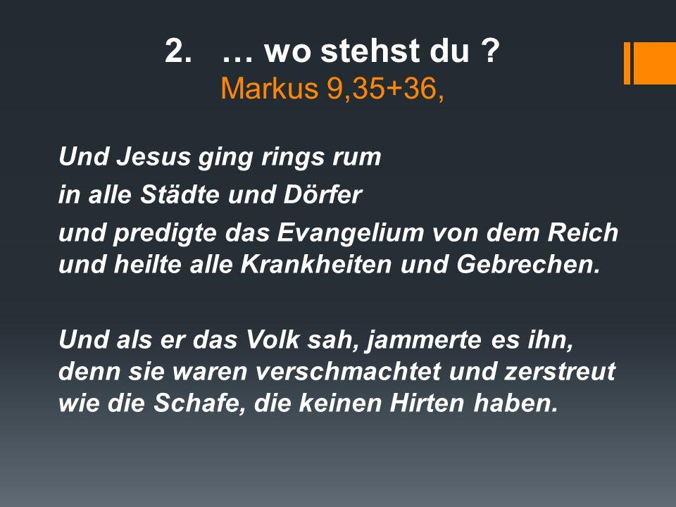 aus Markus 10 …Da warf er seinen Mantel von sich und sprang auf und kam zu Jesus.