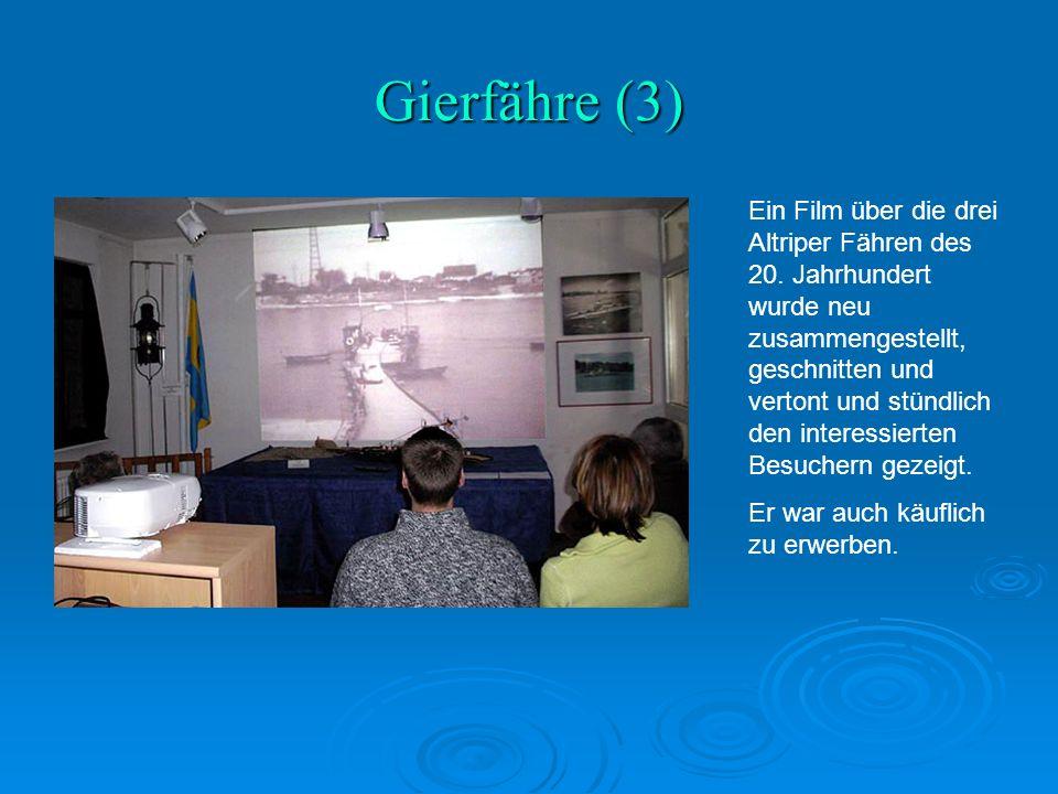 Gierfähre (3) Ein Film über die drei Altriper Fähren des 20.