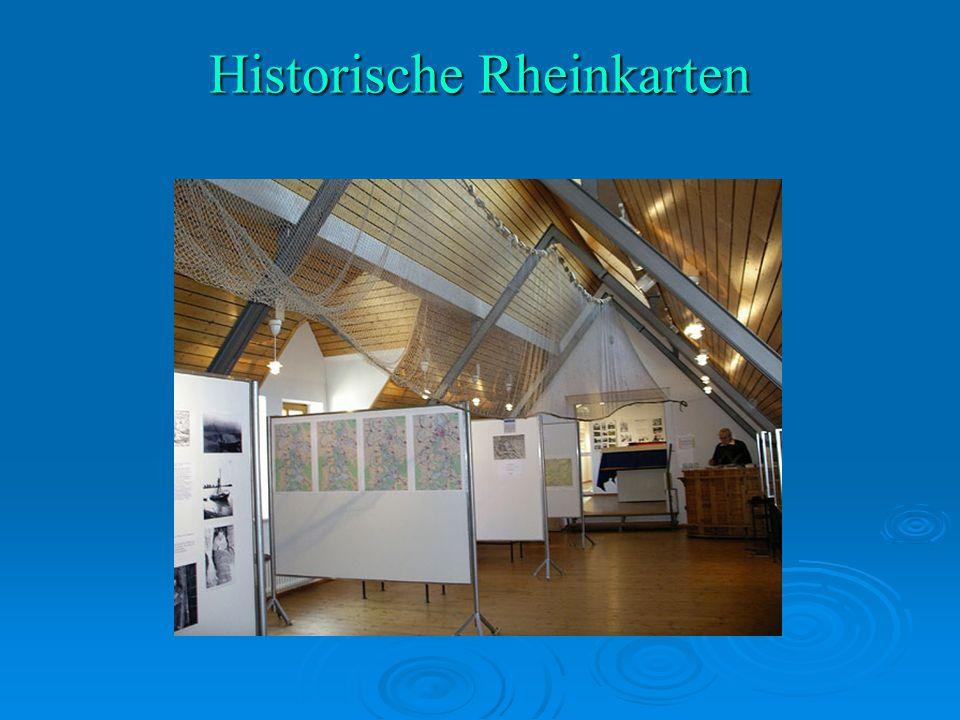 Historische Rheinkarten