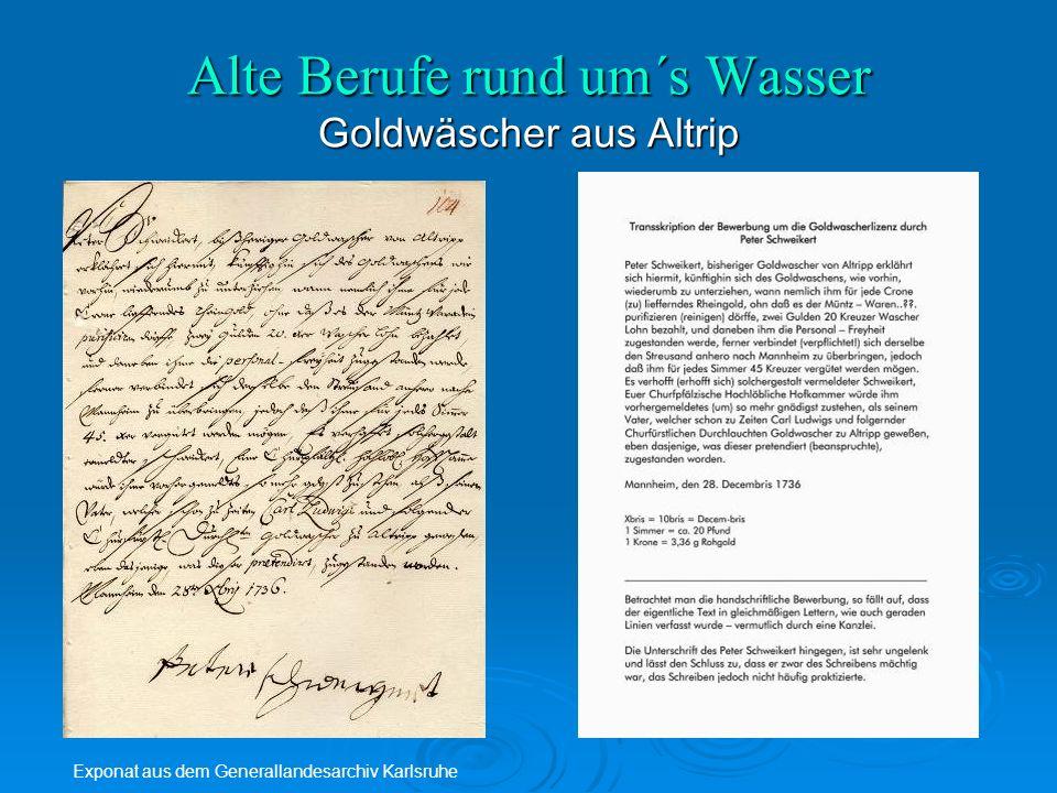 Exponat aus dem Generallandesarchiv Karlsruhe