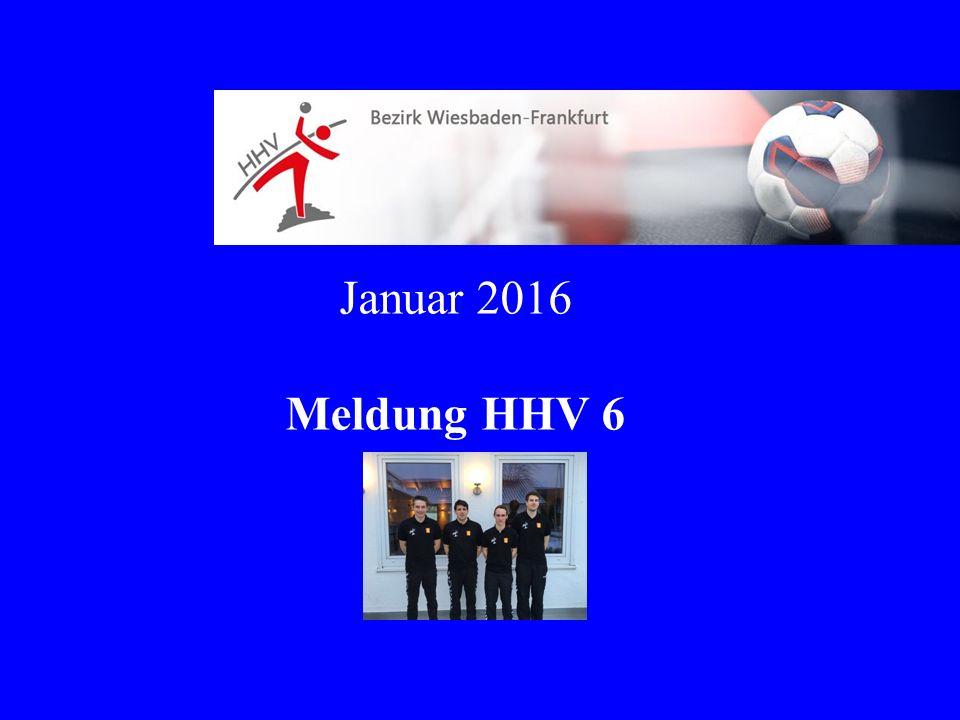 Januar 2016 Meldung HHV 6