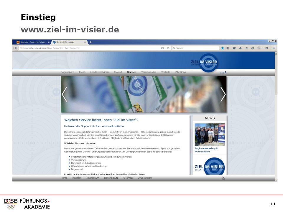 11 Einstieg www.ziel-im-visier.de