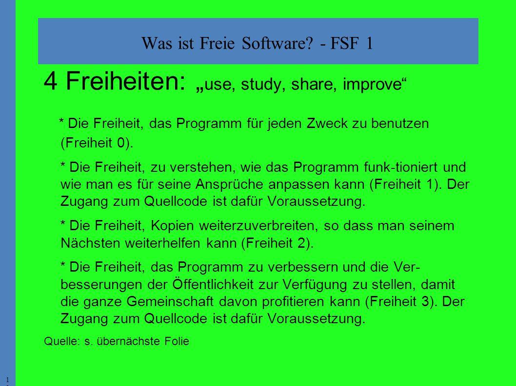 1212 Was ist Freie Software.