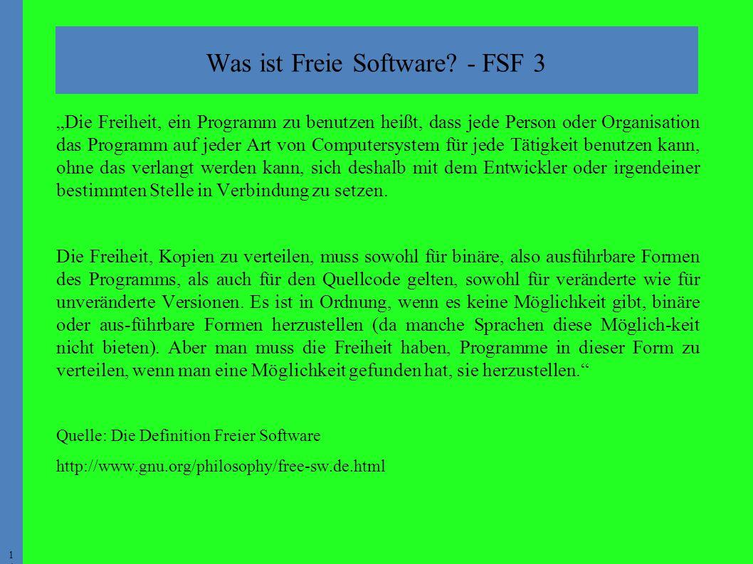 1414 Was ist Freie Software.