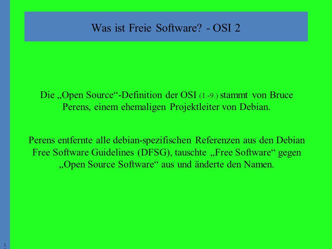 1717 Was ist Freie Software.