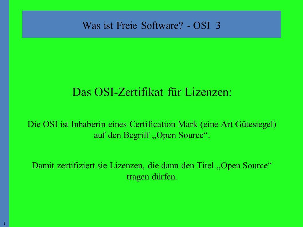 1818 Was ist Freie Software.
