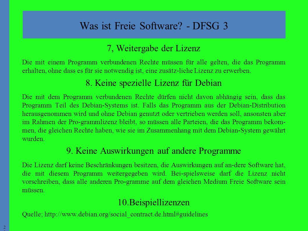 2 Was ist Freie Software.