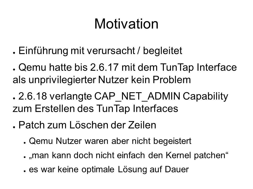 diff -ruN linux-2.6.18-orig/drivers/net/tun.c linux-2.6.18/drivers/net/tun.c --- linux-2.6.18-orig/drivers/net/tun.c 2006-09-20 05:42:06.000000000 +0200 +++ linux-2.6.18/drivers/net/tun.c 2006-10-02 09:21:52.000000000 +0200 @@ -489,9 +489,6 @@ err = -EINVAL; - if (!capable(CAP_NET_ADMIN)) - return -EPERM; - /* Set dev type */ if (ifr->ifr_flags & IFF_TUN) { /* TUN device */