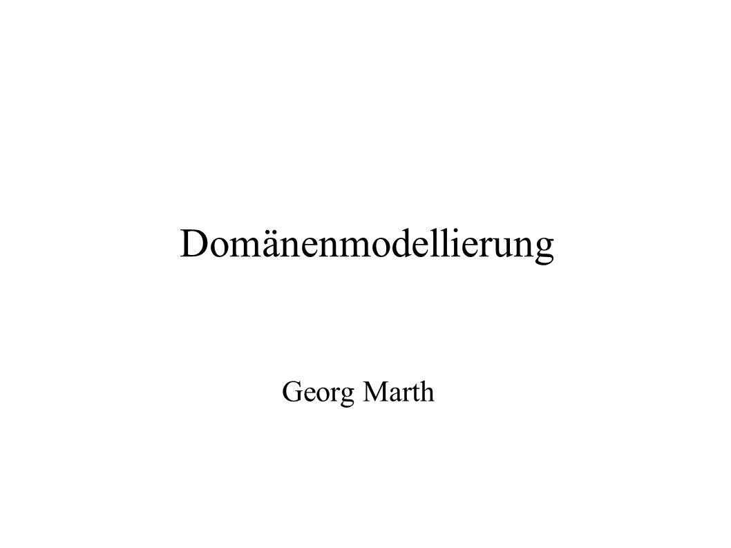 Domänenmodellierung Georg Marth