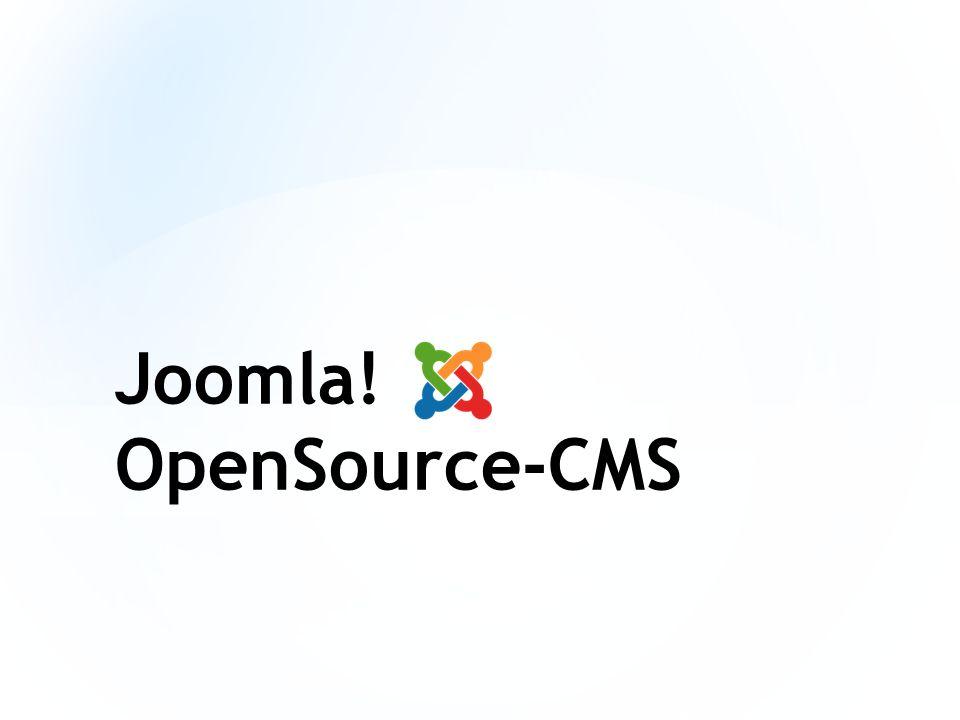 Joomla! OpenSource-CMS