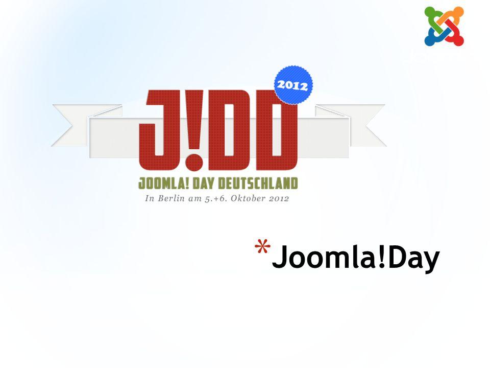* Joomla!Day