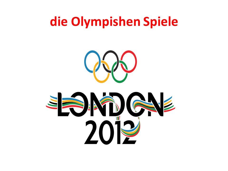 die Olympishen Spiele