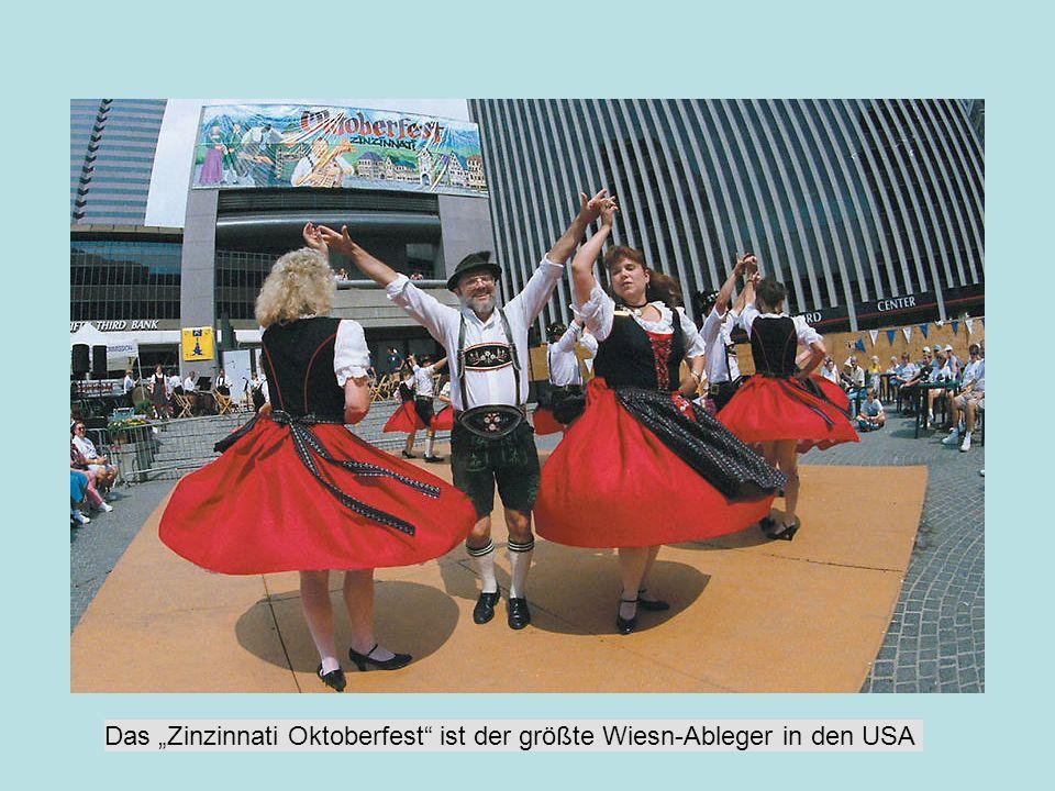 """Das """"Zinzinnati Oktoberfest ist der größte Wiesn-Ableger in den USA"""
