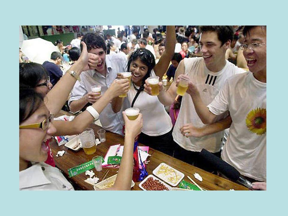 Qingdao ist die chinesische Bierhauptstadt. Da darf ein Oktoberfest nicht fehlen