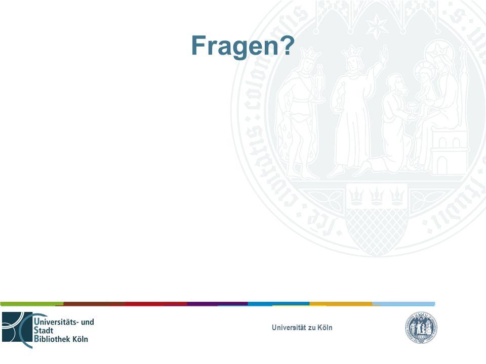 Universität zu Köln Fragen