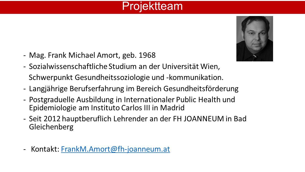 -Mag. Frank Michael Amort, geb.