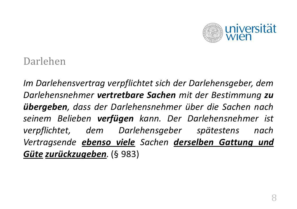39 Fall 2 Sandra möchte beim Autohändler Wolfgang ein Auto erwerben (Kaufpreis: € 50.000,-.), verfügt aber nicht um die nötigen Mittel.